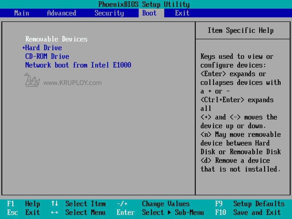 BIOS Key