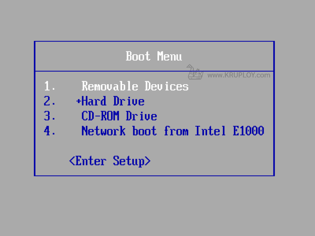 Boot Windows 10 USB