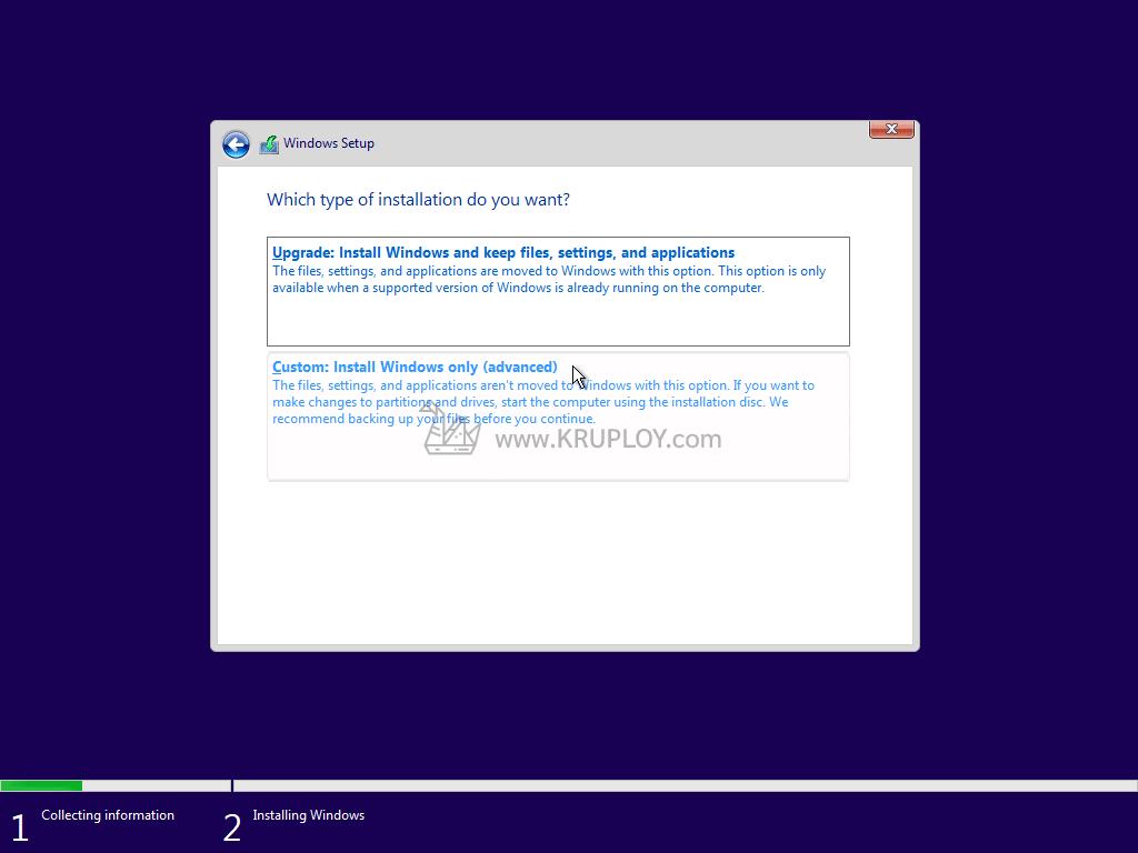 ลง Windows 10 USB แบบ Clean