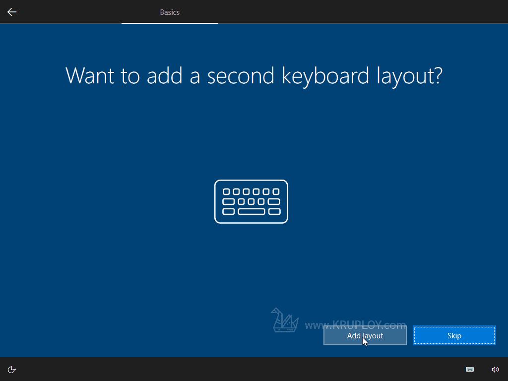 เพิ่ม Keyboard ใหม่