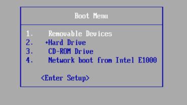 ปุ่มเข้า boot menu และ BIOS