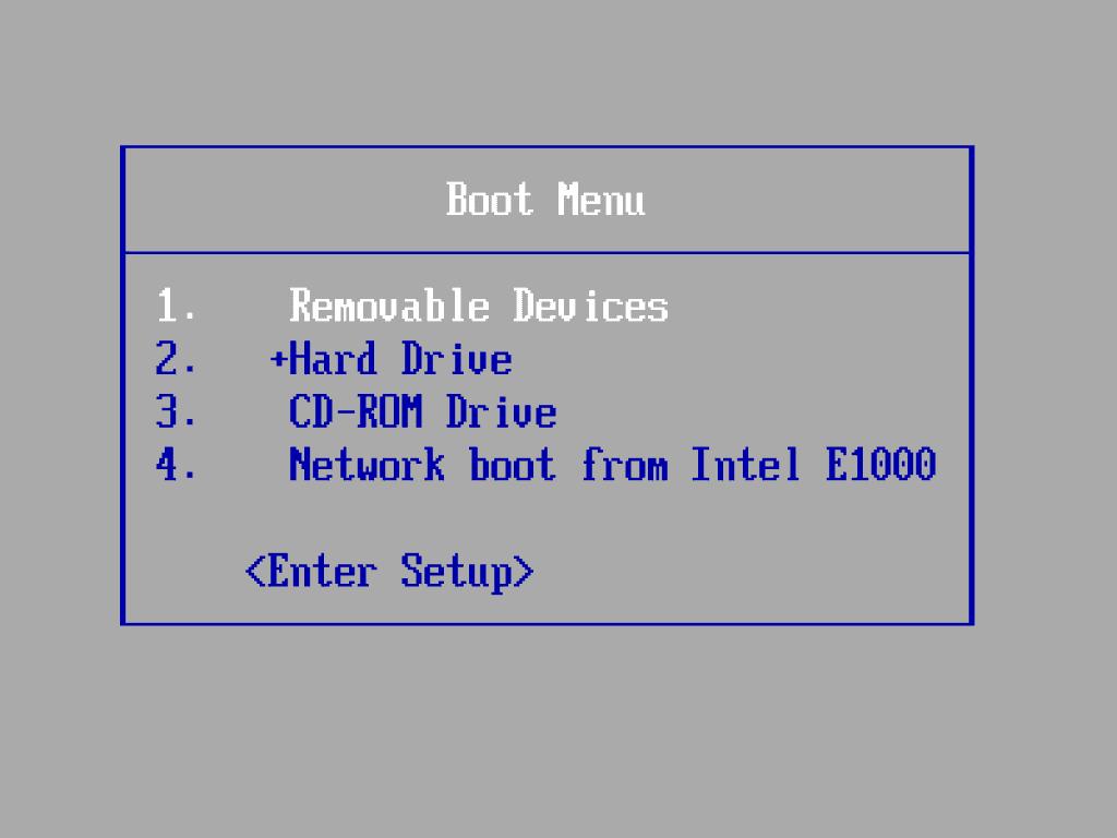 Boot จาก USB Flash Drive