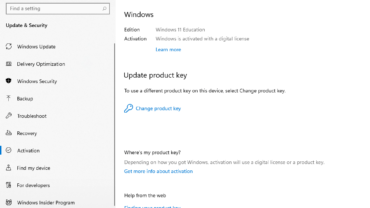 Activate Windows 11 Key