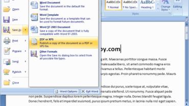 แก้ไข Save as PDF ไม่ได้